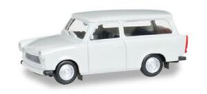 HO-1-87-Herpa-Trabant-601-S-Universal-Station-Wagon-Light-Grey