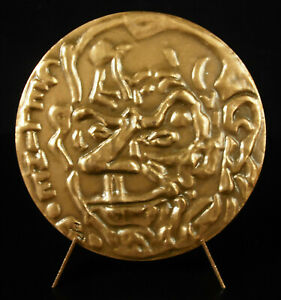 Medaglia-Louis-Ferdinand-Celine-Viaggio-a-Punta-Della-Notte-Gen-Paul-1974-Medal