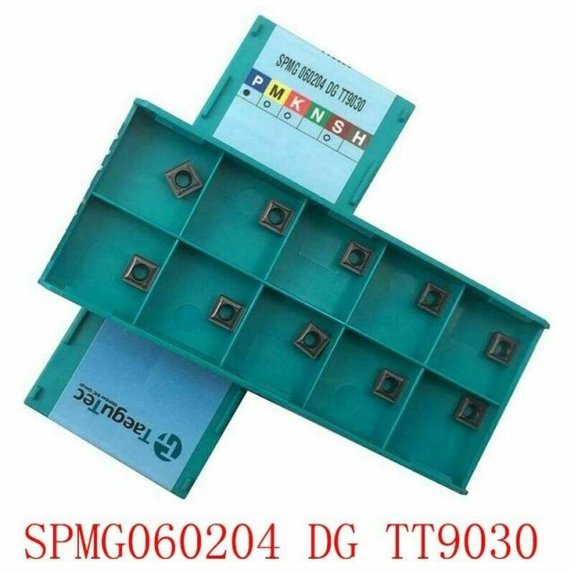 10P SPMG110408 DG TT9030 Indexable U drill Insert CNC Carbide Insert For P.M.K