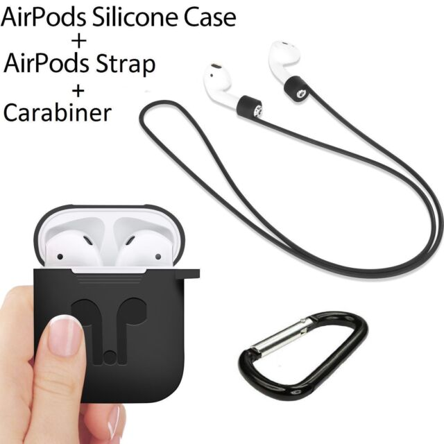 Strap Holder & Silicone Case Cover Accessories for Apple