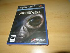 Area 51 Sony PlayStation 2 ps2   NEW  FACTORY  SEALED   pal version
