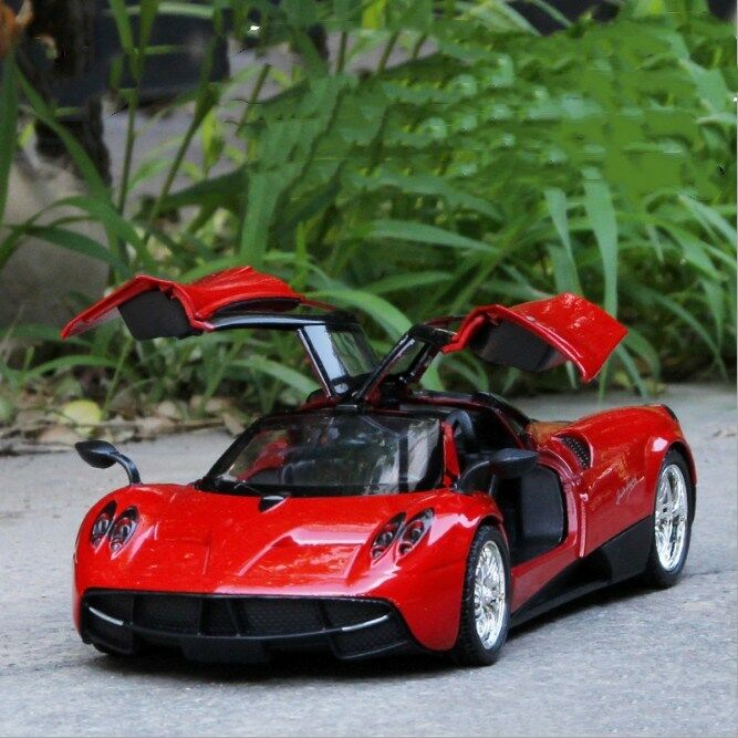 Pagani Huayra Model Cars 1 24 Toys Toys Toys Open two doors Collection Red Alloy Diecast 79594d