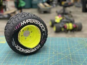 HyperShock Tire #4 BattleBots 2021 (Gruff Match) Autographed