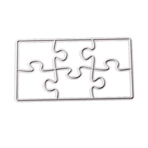 Puzzle Stanzschablone Scrapbooking Stanzmaschine Schablonen Prägeschablonen