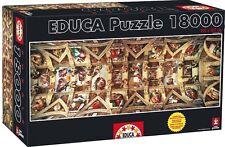 Educa 18000 piece Sistine Chapel jigsaw puzzle!