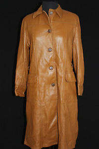 EXCEPTIONAL-QUALITY-VINTAGE-1960-039-S-LONG-DEERSKIN-COAT-SIZE-38