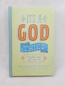 Details about Hallmark Books BOK2155 IT'S A GOD THING, Everyday Signs God  Loves You