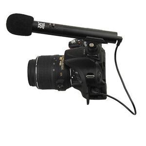 Details about SGM-185S Mini Shotgun Microphone Nikon D750 D7500 D5300 D3300  D7200 D5600 D810