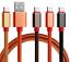 USB-1m-0-25m-Typ-C-3-0-Micro-2-0-Lightning-Ladekabel-Datenkabel-iPhone-Samsung