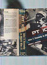 PT 109-JOHN KENNEDY IN WWII-DONOVAN- 1961-HB/DJ-PHOTOS-VG+