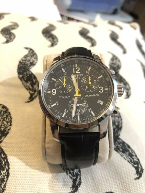 Mens Tissot PRC 200 Quartz Chronograph *MINT CONDITION* Swiss made
