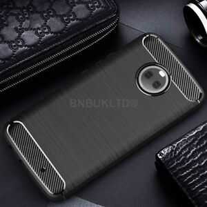 quality design 28cdb 2170d Details about For Motorola Moto X4 Carbon Fibre Gel Case Cover & Glass  Screen Protector