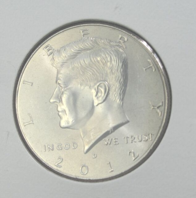 2012 PD  Kennedy Half 2 coin set from Mint Bags Free Shipping