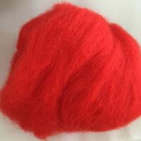 Wool Roving Corriedale Top Fiber Needle felting Dyed Spinning Wet Felting Crafts