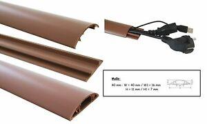 Gr/ö/ße Kabelkanal:70mm 1m Fu/ßboden Kabelkanal PVC oder ALU selbstklebend in verschiedenen Breiten Farbe Kabelkanal:Aluminium