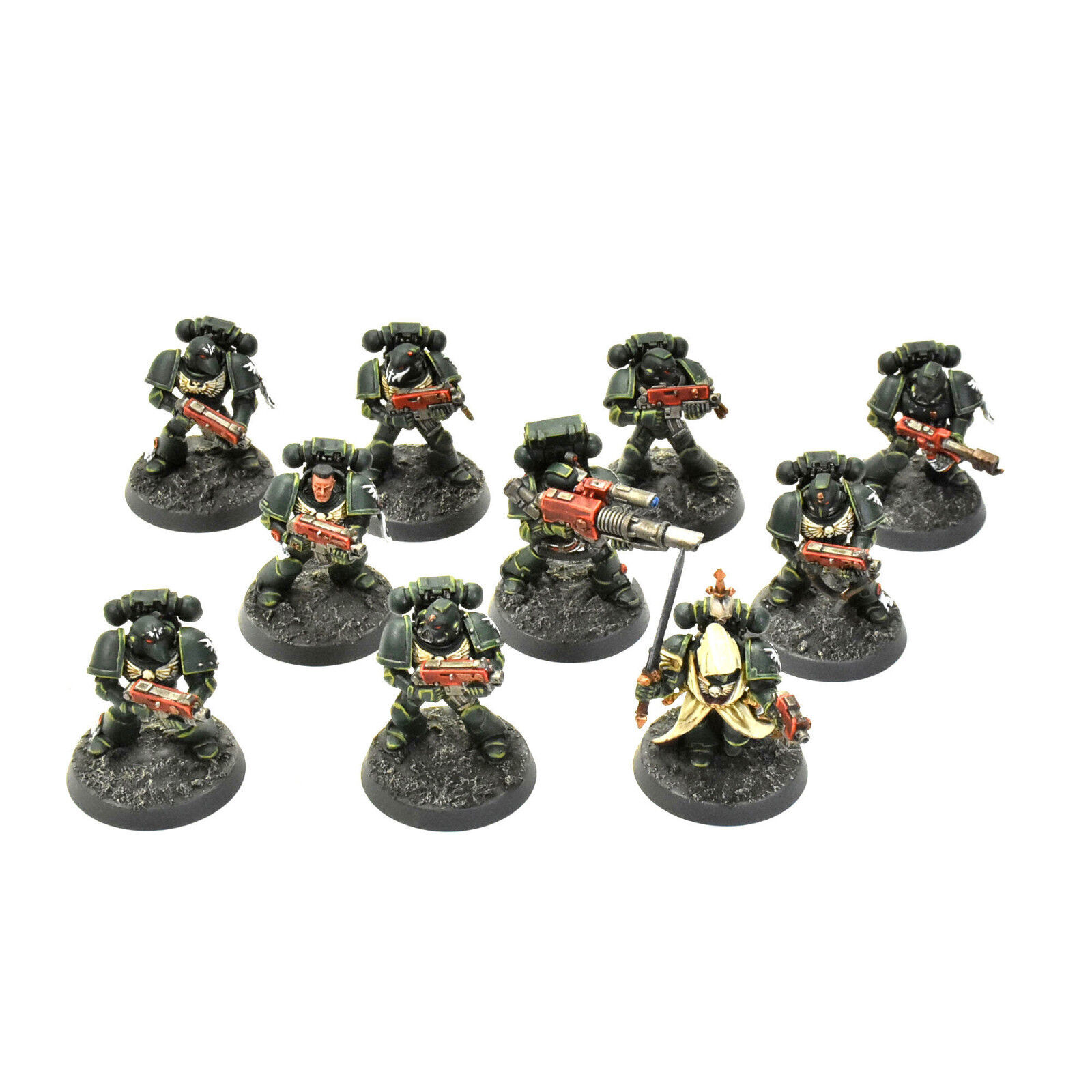 Dark Angels Tactical Squad Pro pintado warhammer 40K