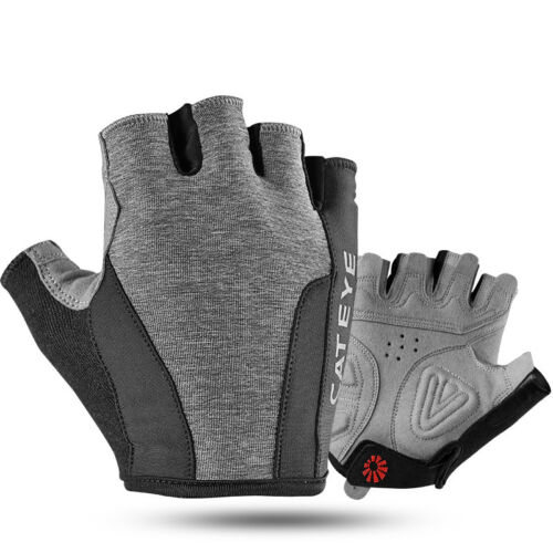 CATEYE Cycling Half Finger Gloves Non-slip Outdoor Sporting Polyester Gloves