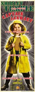 CAPTAIN-JANUARY-1936-Shirley-Temple-MOVIE-POSTER-3-Sizes-6-FT-9-FT-10-5-FT