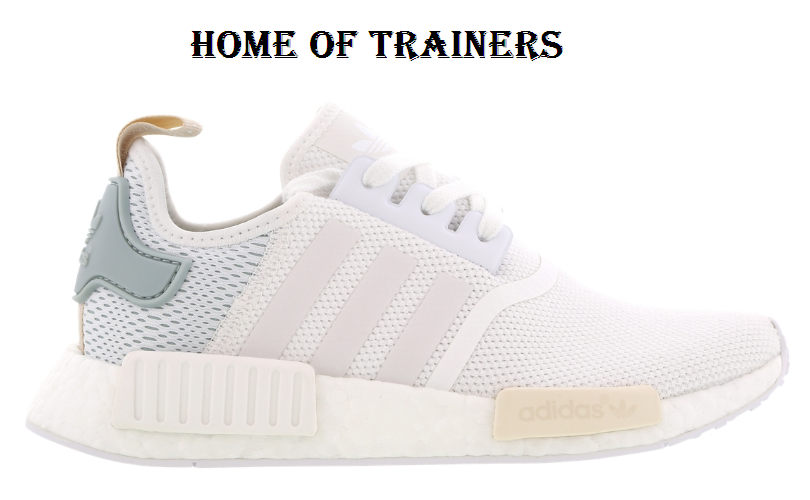 Adidas NMD R1 Ftw Blanc-Tactile Vert Femme Trainers All Taille