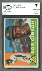 Bob-Gibson-Card-1960-Topps-73-St-Louis-Cardinals-BGS-BCCG-7