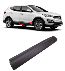 Fourgreen Front Door-Side Molding Right Side Compatible with Hyundai 2013-2018 Santa Fe 3.3