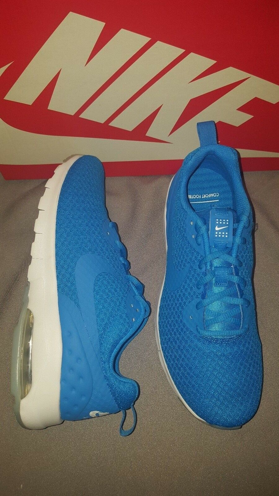 NIKE AIR MAX MOTION LW MENS SHOES PHOTO BLUE WHITE US 8 NEW IN BOX