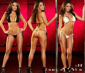 image is loading costume da bagno fringe perizoma bikini donna mare