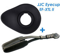 Jjc Ef-xtlii Oval Large Eyecup +genuine Leather Wrist Strap Fujifilm X-t1 X-t2