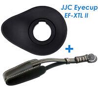 Jjc Ef-xtlii Oval Large Eyecup +genuine Leather Wrist Strap Fujifilm X-t1 X-t2