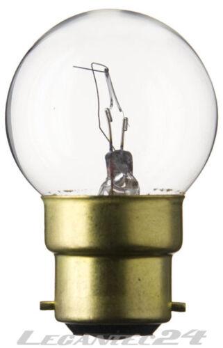 Glühlampe 24V 35W B22d 45x72mm Glühbirne Lampe Birne 24Volt 35Watt neu