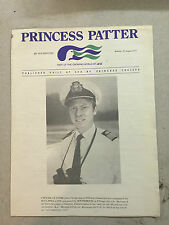 September 1, 1975 Princess Patter : Published Daily At Sea by Princess Cruises