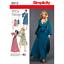 Simplicity-Sewing-Pattern-8013-Misses-039-Vintage-1970-039-s-Faux-Wrap-Tie-Dresses miniatuur 1