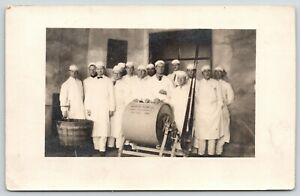 Owatonna-MN-Perfection-Butter-Churn-Co-Workers-with-034-Junior-034-Creamery-1910-RPPC