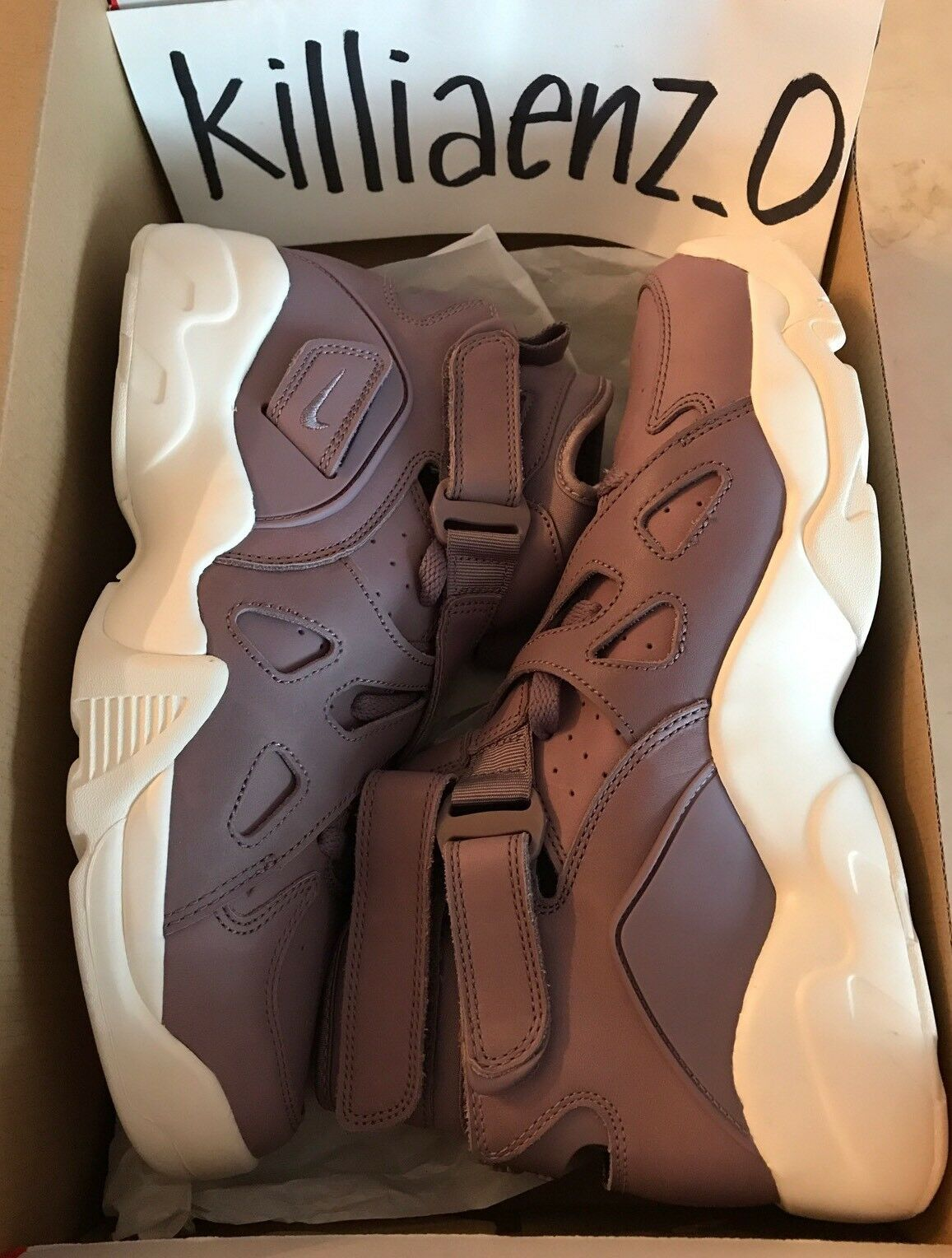 Nike Air Unlimited Mens Sz 9 RARE Shoes Purple Smoke Sail David Robinson 854318 The latest discount shoes for men and women