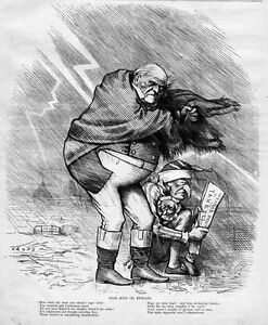 LEAR, KING OF ENGLAND, YANKEES, TRADE, BY THOMAS NAST