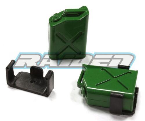 1//10 Plastic Oil Gas Fuel Tank SCX10 90027 90028 90035 CC01 RC4WD Crawler GREEN