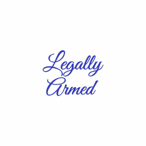 ebn4203 Multiple Colors /& Sizes Legally Armed Vinyl Decal Sticker