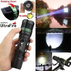 Ultrafire 30000LM Zoomable Focus T6 LED Flashlight 18650 Torch Military Camping