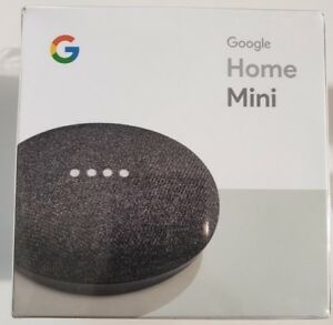 Google Home Mini - Smart Small Speaker - Charcoal -  BRAND NEW SEALED