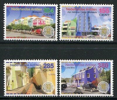 Motive Offizielle Website Niederländische Antillen 2007 Otrabanda Architektur Iii Geschichte 1567-1570 Mnh Strukturelle Behinderungen Briefmarken