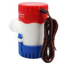 Mini pompe à eau électrique de cale de bateau de 12V 1100 GPH pour le