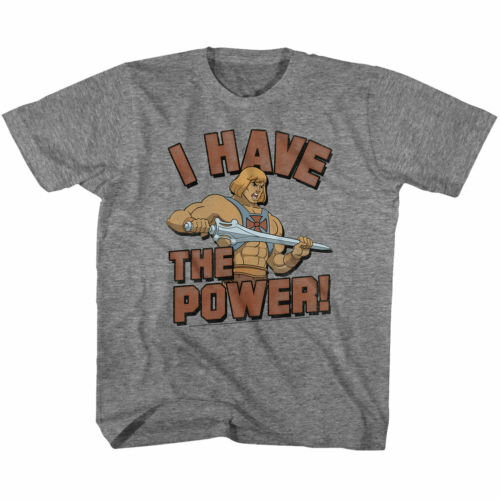 Masters of the Universe The Power Graphite Youth T-Shirt