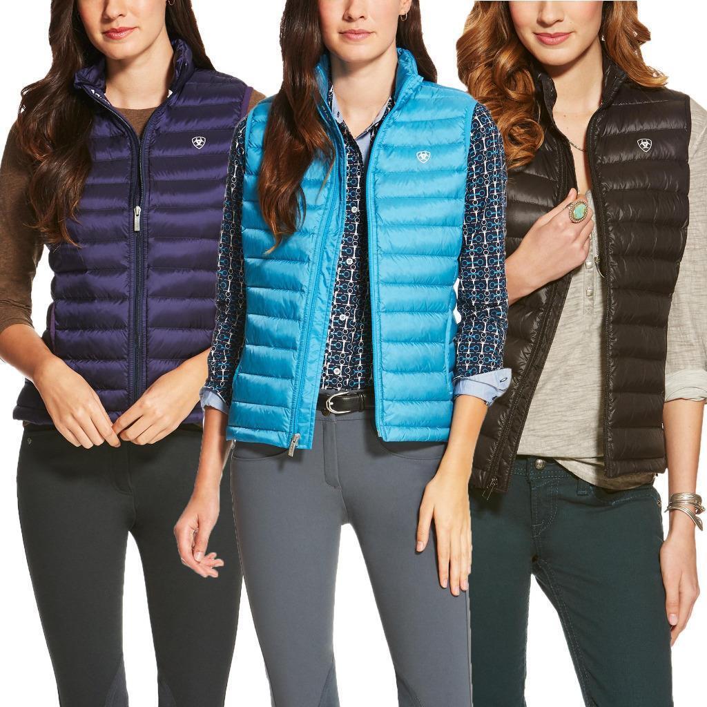 Ariat Womens Ideal  Down Vest NEW  floor price