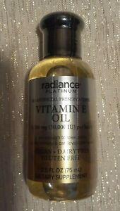 New 1 Radiance Platinum Vitamin E Oil 13,500mg 30,000IU ...