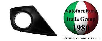 GRIGLIA PARAURTI ANTERIORE ANT DX C//FORO C//CROMO PEUGEOT 207 09/> DAL 2009 IN POI