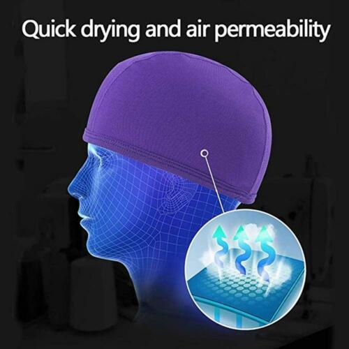 Skull Cap Helmet Liner Moisture Wicking Cooling Helmet Liner Sun Protection Hat
