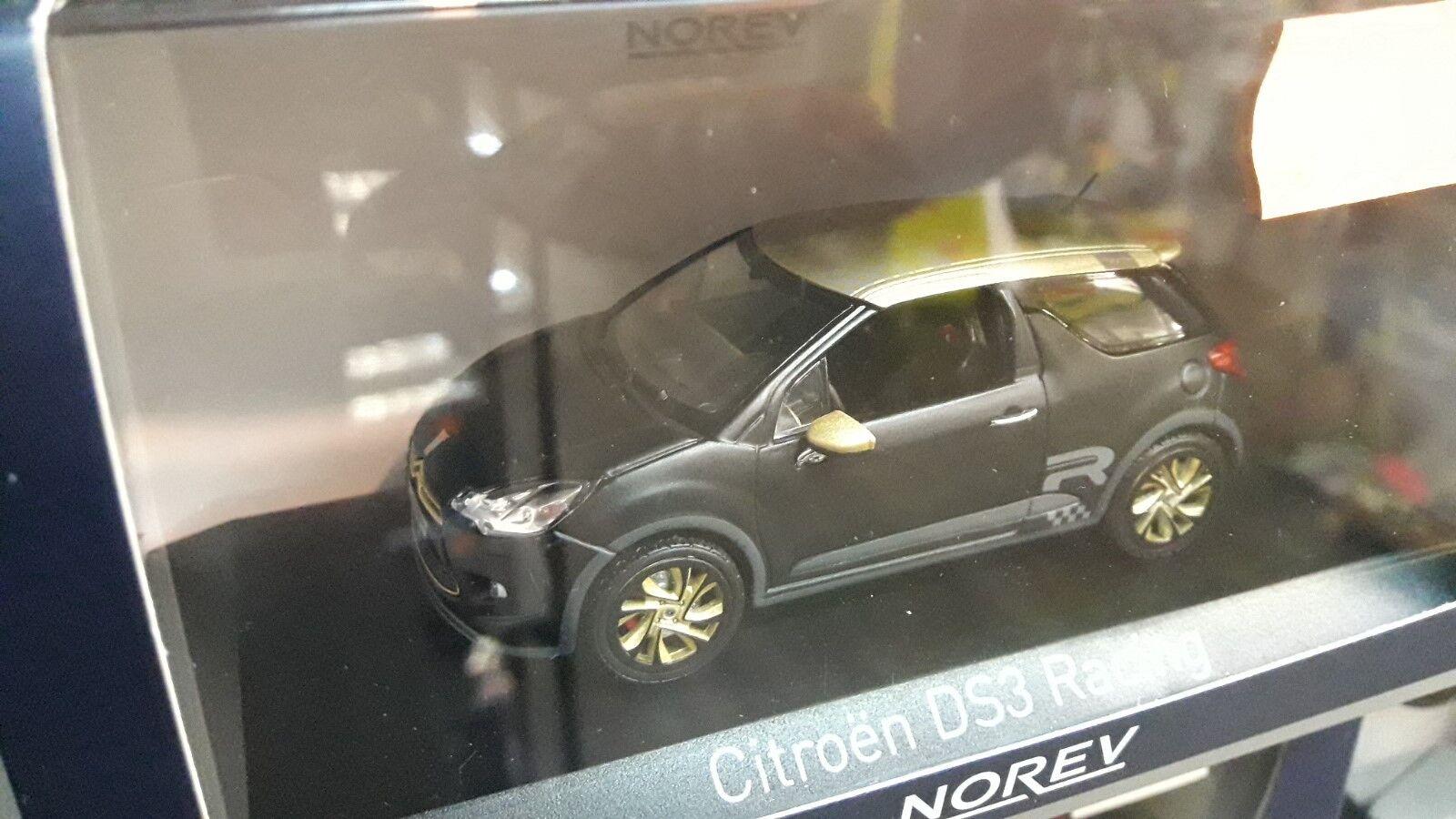 Miniature 1 43 citroen ds3 racing noir et or norev neuve en boite