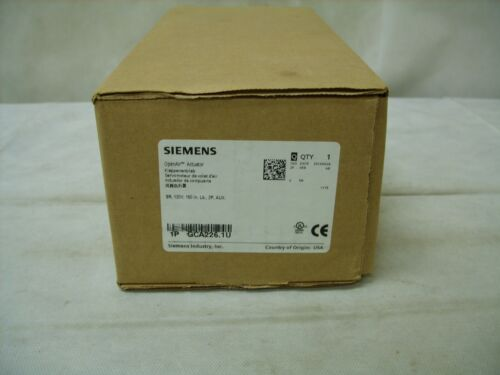 SIEMENS GCA226.1U HVAC Spring Return Open Air Actuator GCA2261U NEW
