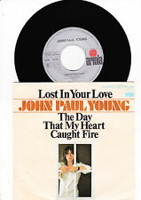 """7"""" John Paul Young - Lost in your love   7"""" Single"""
