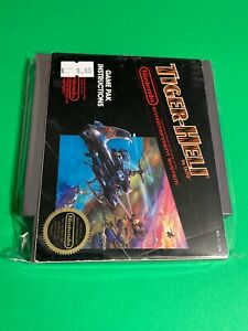 🔥 100% WORKING NINTENDO NES GAME Cartridge + MANUAL - Acclaim TIGER-HELI SHUMP